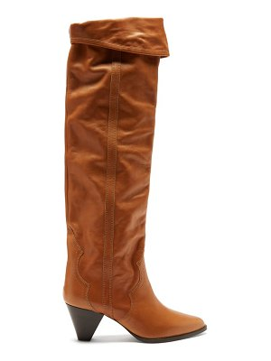 Isabel Marant remko leather over-the-knee boots