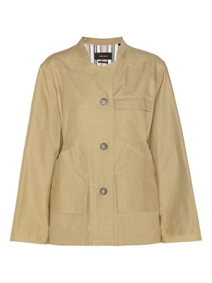 Isabel Marant Sasha cotton and linen jackets