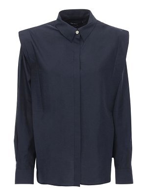 Isabel Marant Talki tailored cotton blend poplin shirt