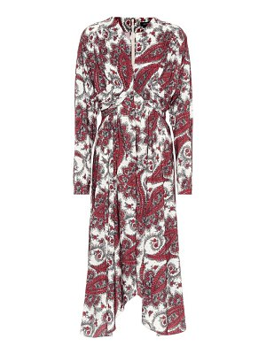 Isabel Marant Tamara paisley-printed dress