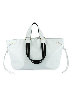 Isabel Marant Wardy Iconic Leather Shopper Tote Bag