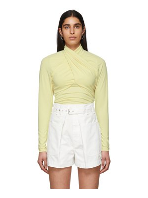 Isabel Marant yellow georgina blouse