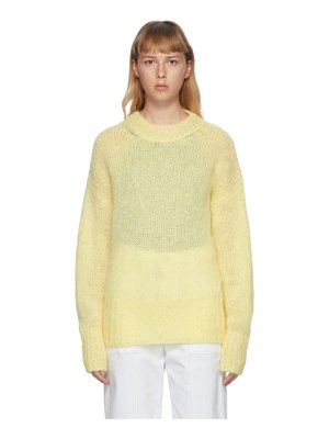Isabel Marant yellow mohair estelle sweater