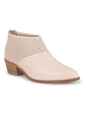 ITALEAU Rinella Perforated Ankle Boots