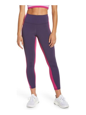 IVL COLLECTIVE engineered stripe active leggings