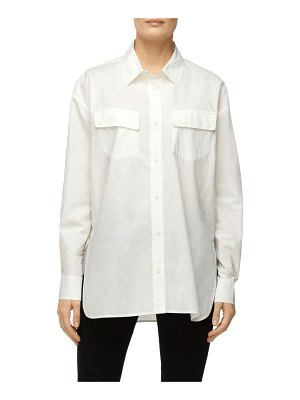J Brand Bryson Oversized Button-Down Shirt