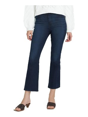 J Brand Franky High-Rise Cropped Boot-Cut Jeans
