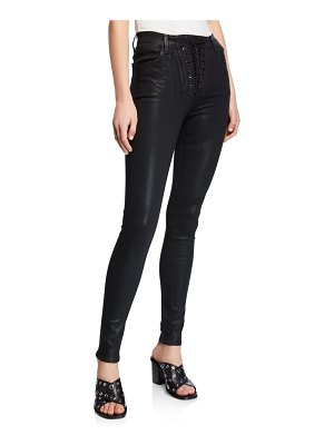 J Brand High-Rise Skinny Ankle Jeans