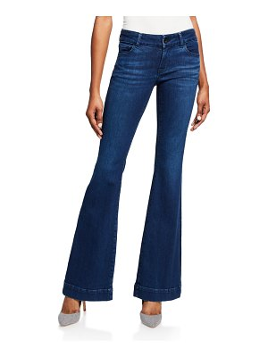 J Brand Lovestory Low-Rise Flare Jeans