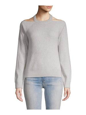 J Brand mackenzie cashmere cold-shoulder sweater