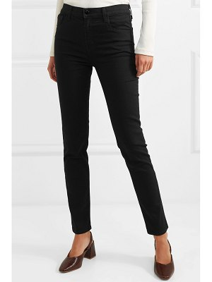 J Brand ruby high-rise slim-leg jeans