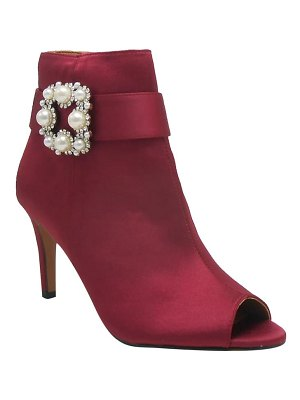 J. Renee pranati embellished open toe bootie