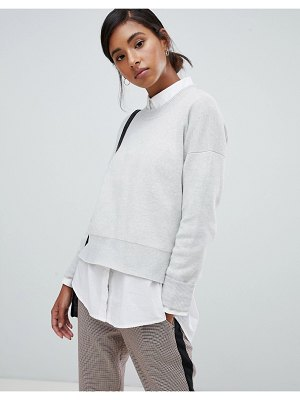 Jack Wills wool blend knit with buckle detail-grey