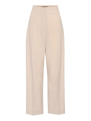 JACQUEMUS droit high-waisted pants