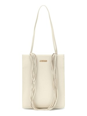 JACQUEMUS le a4 leather shoulder bag