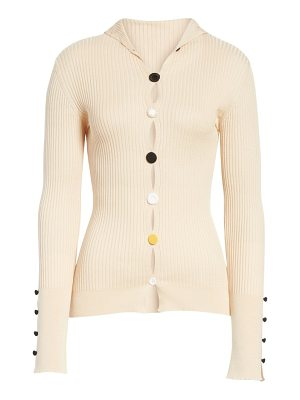 JACQUEMUS le cardigan ribbed button cardigan