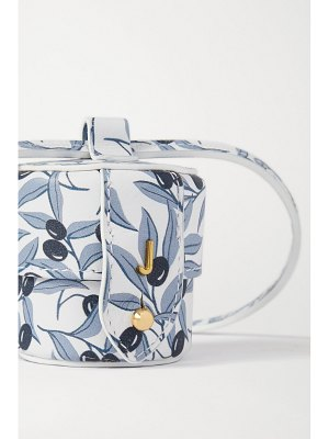 JACQUEMUS le micro vanity mini printed leather shoulder bag