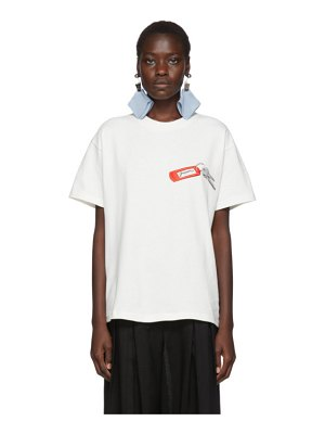 JACQUEMUS le t-shirt collectionneuse t-shirt
