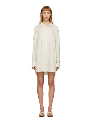 JACQUEMUS ssense exclusive off-white la chemise dhomme shirt