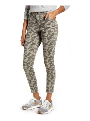 Jag Jeans margaret camo utility skinny jeans