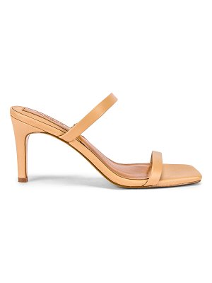 JAGGAR two strap leather sandal