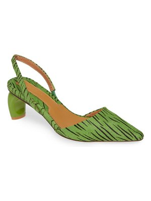 JAGGAR virtue genuine calf hair slingback pump