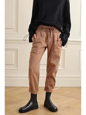 James Perse cotton-blend twill cargo pants