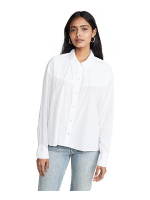 James Perse embroiderd western shirt
