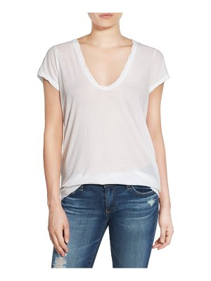 James Perse high gauge jersey deep v tee