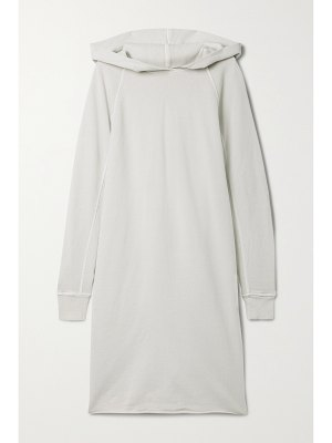 James Perse hooded cotton-jersey dress
