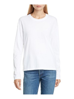 James Perse long sleeve vintage boxy tee