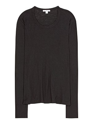 James Perse long-sleeved cotton top