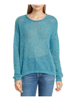James Perse loose stitch wool & cashmere sweater