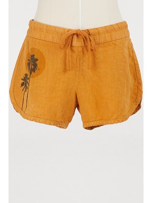 James Perse Palms short