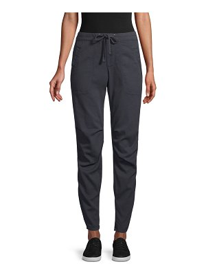 James Perse Pull-On Cotton-Blend Pants