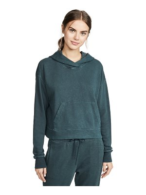 James Perse relaxed cropped hoodie