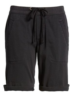 James Perse soft drape utility shorts