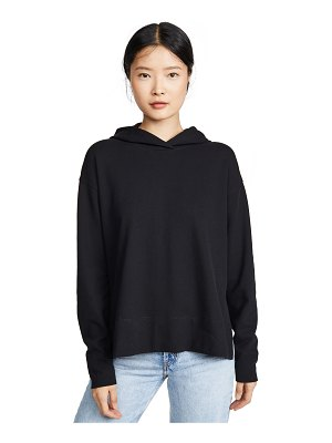 James Perse split side hoodie