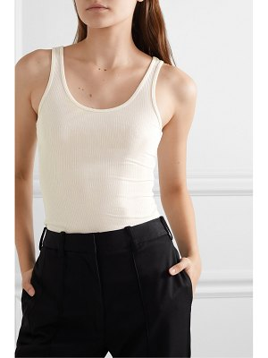 James Perse the daily ribbed stretch-supima cotton tank
