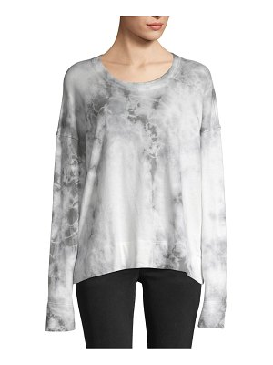 James Perse Tie-Dyed Cotton Top
