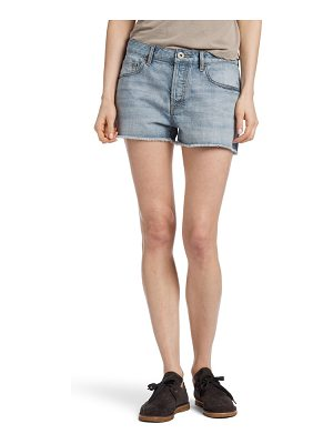James Perse vintage high waist denim shorts
