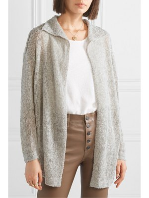 James Perse wool and cashmere-blend cardigan