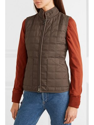 James Purdey & Sons quilted cotton vest