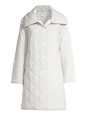 JANE POST jane diamond quilted coat