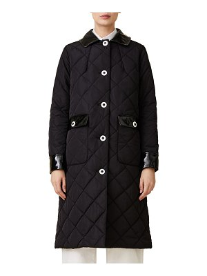 JANE POST long quilted coat