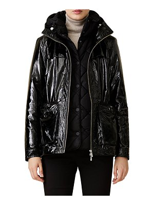 JANE POST Quilted Double City Coat
