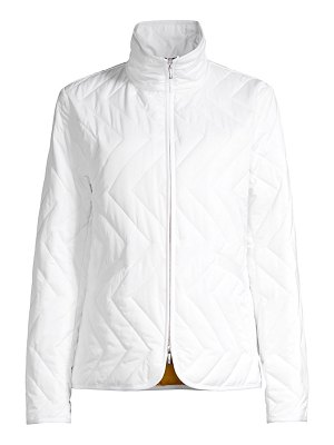 JANE POST quilted zigzag jacket