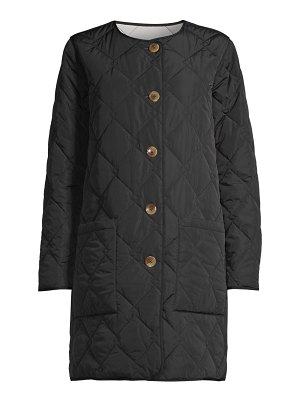 JANE POST reversible quilted jacket