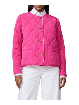 JANE POST Short Reversible Quilted Jacket