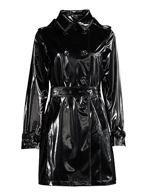 JANE POST spring hologram trench coat